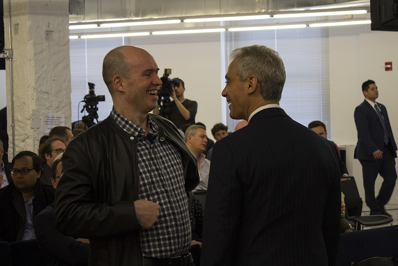 Ben Horowitz & Chicago Mayor Rahm Emanuel