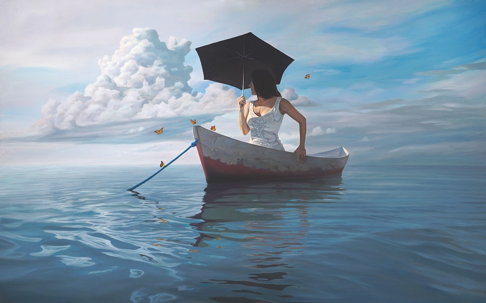 """Women, even as man, """"can paddle her own canoe."""""""